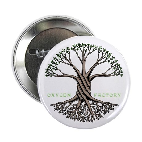 "Oxygen Factory 2.25"" Button (10 pack)"