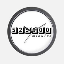 525600 Wall Clock