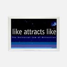 Universal Law of Attraction Rectangle Magnet