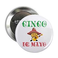 "Fun Cinco De Mayo 2.25"" Button (10 pack)"