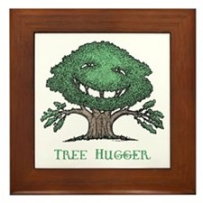 Tree Hugger Framed Tile