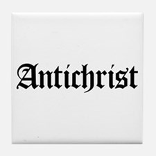 Antichrist Tile Coaster