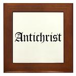Antichrist Framed Tile
