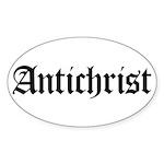 Antichrist Oval Sticker (10 pk)