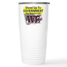 Stand Up To Government Travel Mug