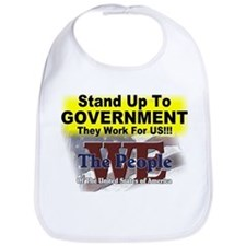Stand Up To Government Bib
