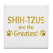 Shih-Tzu Tile Coaster