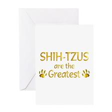 Shih-Tzu Greeting Card