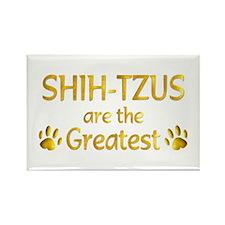Shih-Tzu Rectangle Magnet (100 pack)