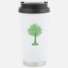 TREE hugger (dark green) Travel Mug