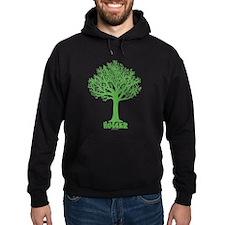 TREE hugger (dark green) Hoodie