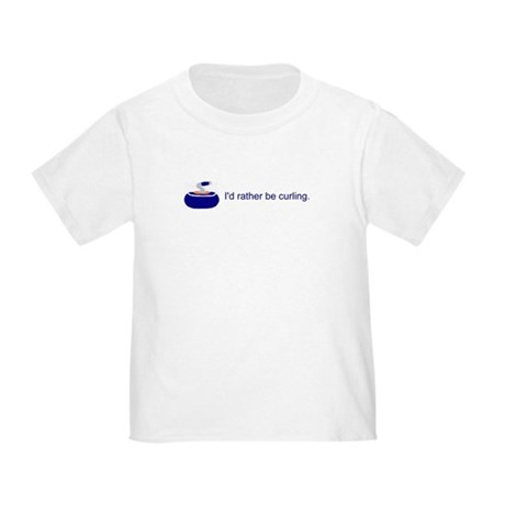 blueratherbecurling T-Shirt