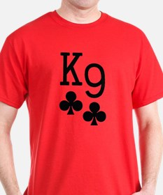 K9 - Canine - Poker T-Shirt