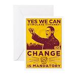 Stimulate Tyranny! Greeting Cards (Pk of 20)