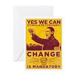 Stimulate Tyranny! Greeting Card