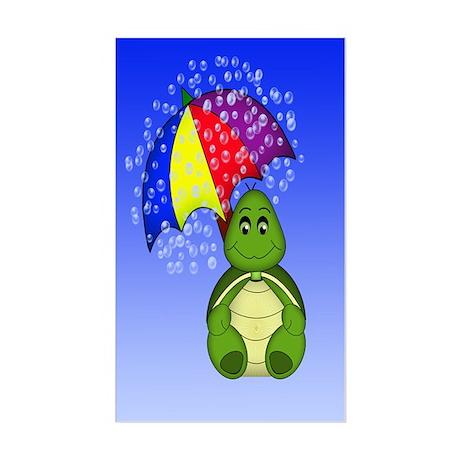 Turtle Rectangle Sticker