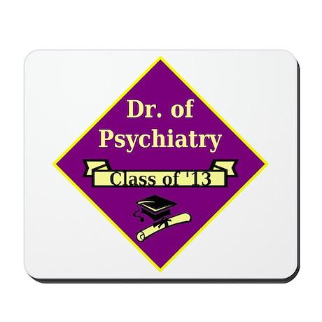 Psychiatrist Grad Mousepad