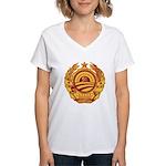 Stimulate Tyranny! Women's V-Neck T-Shirt