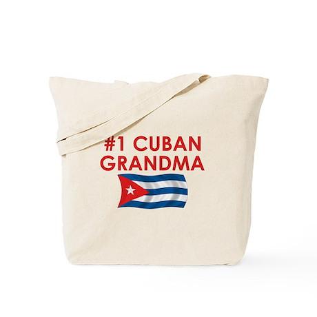 #1 Cuban Grandma Tote Bag