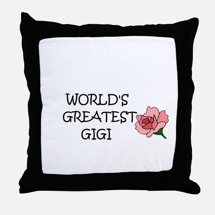 Cute Gg Throw Pillow