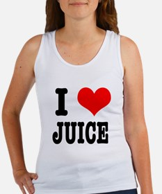 I Heart (Love) Juice Women's Tank Top