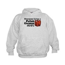 Polish German Girl Hoodie