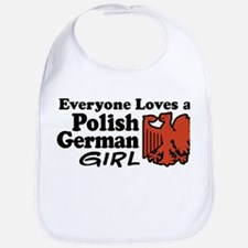 Polish German Girl Bib