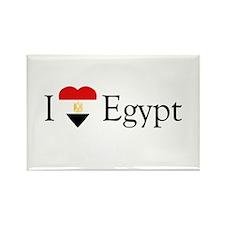 I Love Egypt Rectangle Magnet