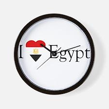 I Love Egypt Wall Clock