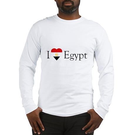 I Love Egypt Long Sleeve T-Shirt