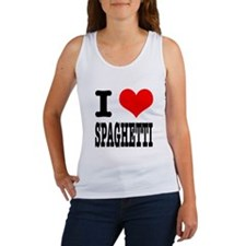 I Heart (Love) Spaghetti Women's Tank Top