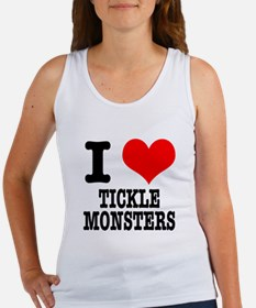 I Heart (Love) Tickle Monster Women's Tank Top