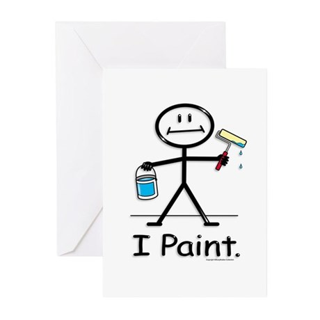 BusyBodies Painter Greeting Cards (Pk of 10)