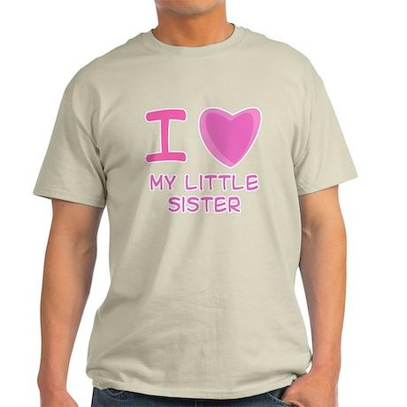 Pink I Heart (Love) My Little Light T-Shirt