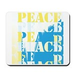 Words of PEACE Mousepad