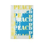Words of PEACE Rectangle Magnet