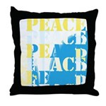 Words of PEACE Throw Pillow