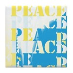 Words of PEACE Tile Coaster