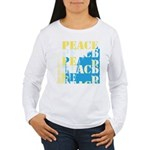 Words of PEACE Women's Long Sleeve T-Shirt