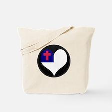 I love CHRISTIAN Flag Tote Bag