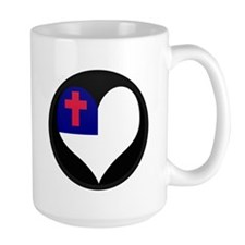 I love CHRISTIAN Flag Mug