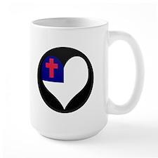 I love CHRISTIAN Flag Mug