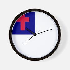 Christian Wall Clock