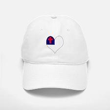 I Love CHRISTIAN Baseball Baseball Cap