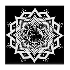 Ancient Celestial Tile Coaster