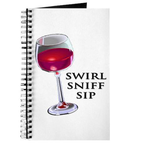 Swirl Sniff Sip Journal