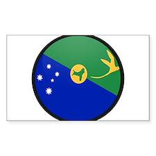 Christmas Island Rectangle Decal