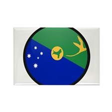 Christmas Island Rectangle Magnet