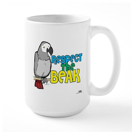 Respect the Beak! Large Mug