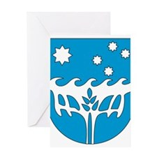 CHRISTMAS ISLAND Coat of Arm Greeting Card